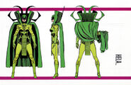 Hela (Earth-616) from Official Handbook of the Marvel Universe Master Edition Vol 1 6 0001