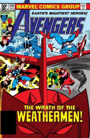 Avengers Vol 1 210