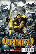Weirdworld Vol 1 1 Bisley Variant