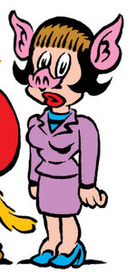Batty Brant (Earth-8311) from Peter Porker, The Spectacular Spider-Ham Vol 1 14.0001