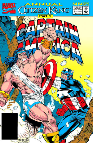 Captain America Annual Vol 1 11