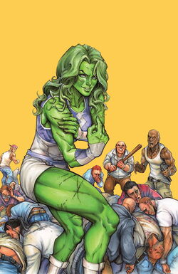 She-Hulk Vol 3 1 Oyum Variant Textless