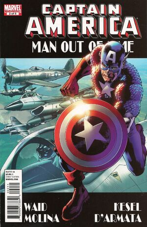 Captain America Man Out of Time Vol 1 2