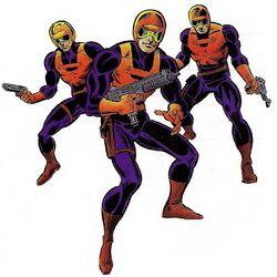 Watchdogs (Earth-616) from Gamer's Handbook of the Marvel Universe Vol 5 001