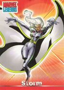 Ororo Munroe (Earth-616) from Marvel Legends (Trading Cards) 0001