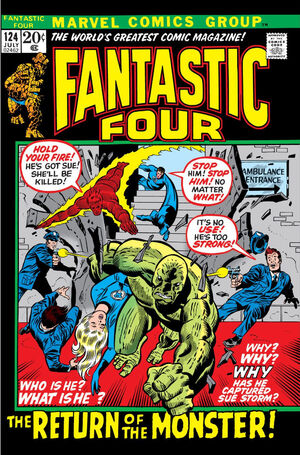 Fantastic Four Vol 1 124