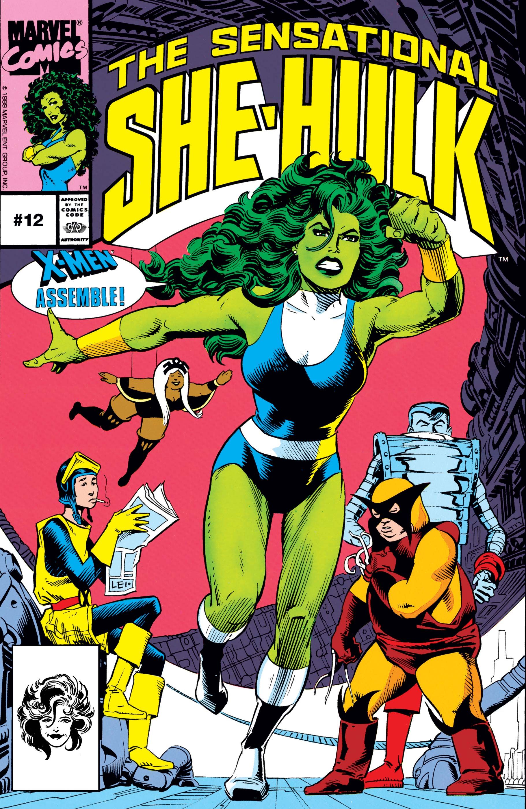 Sensational She-Hulk Vol 1 12