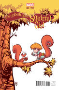 Unbeatable Squirrel Girl Vol 1 1 Baby Variant