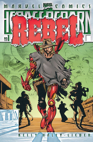 Heroes Reborn Rebel Vol 1 1
