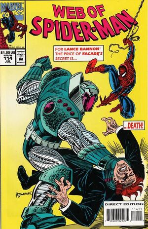Web of Spider-Man Vol 1 114
