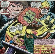 Mad Thinker (Earth-616) commanding his Monster Android