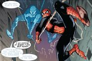 Peter Parker (Earth-616) and Otto Octavius (Earth-616) from Superior Spider-Man Vol 1 2 001