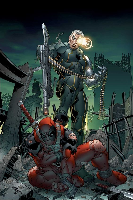 Cable & Deadpool Vol 1 14 Textless