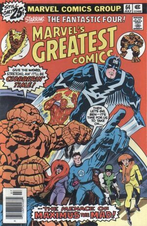 Marvel's Greatest Comics Vol 1 64