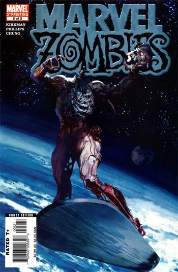 Marvel Zombies Vol 1 5 Second Printing Variant