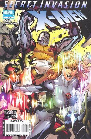 Secret Invasion X-Men Vol 1 3