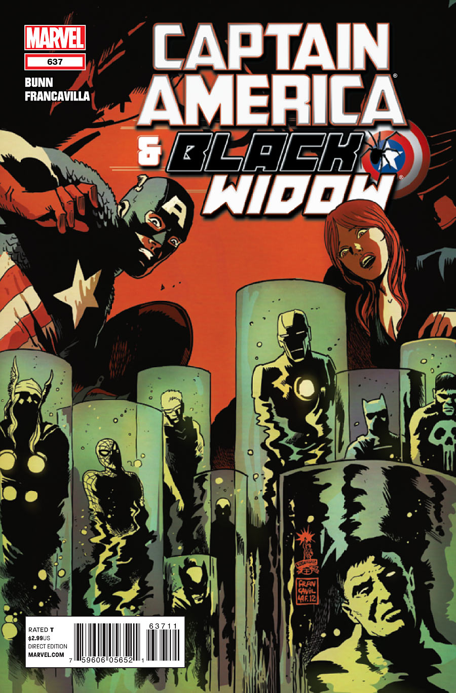 Black Widow Captain America Comic Captain America And Black