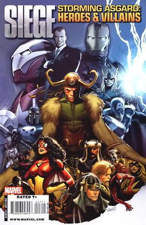 Siege Storming Asgard Heroes & Villains Vol 1 1