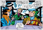 Fantastic Four posing as mobsters from Fantastic Four Vol 1 93