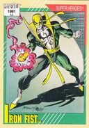 Daniel Rand (Earth-616) from Marvel Universe Cards Series II 0001