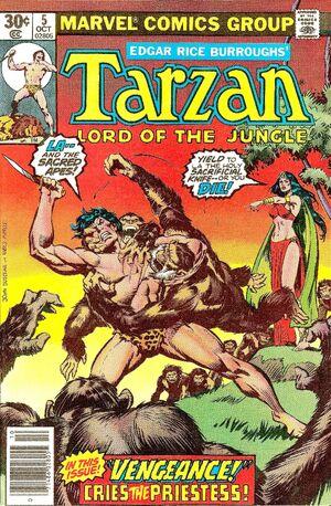 Tarzan Vol 1 5