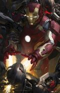Avengers Age of Ultron concept art poster 001