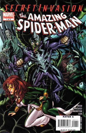 Secret Invasion The Amazing Spider-Man Vol 1 1