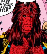 Burke (Earth-1191) from Uncanny X-Men Vol 1 282