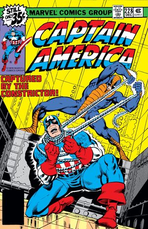 Captain America Vol 1 228