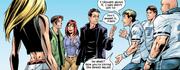 Harry Osborn Peter Parker Mary Jane Watson Gwen Stacy Kong Earth 1610 Vol 1 22 2002