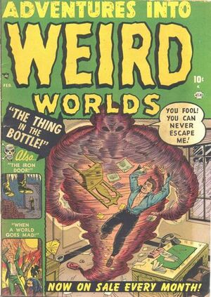 Adventures into Weird Worlds Vol 1 2