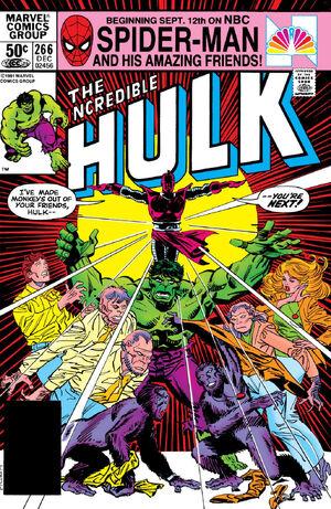 Incredible Hulk Vol 1 266