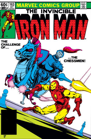 Iron Man Vol 1 163