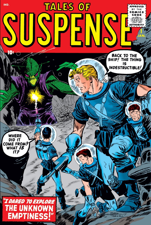 Tales Of Suspense Vol 1 1 Marvel Database Wikia