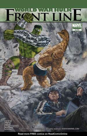 World War Hulk Front Line Vol 1 2