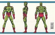 Triton (Earth-616) from Official Handbook of the Marvel Universe Master Edition Vol 1 2 0001