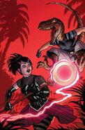 Avengers Arena Vol 1 5 Joe Quinones Variant Textless
