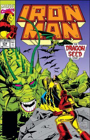 Iron Man Vol 1 274
