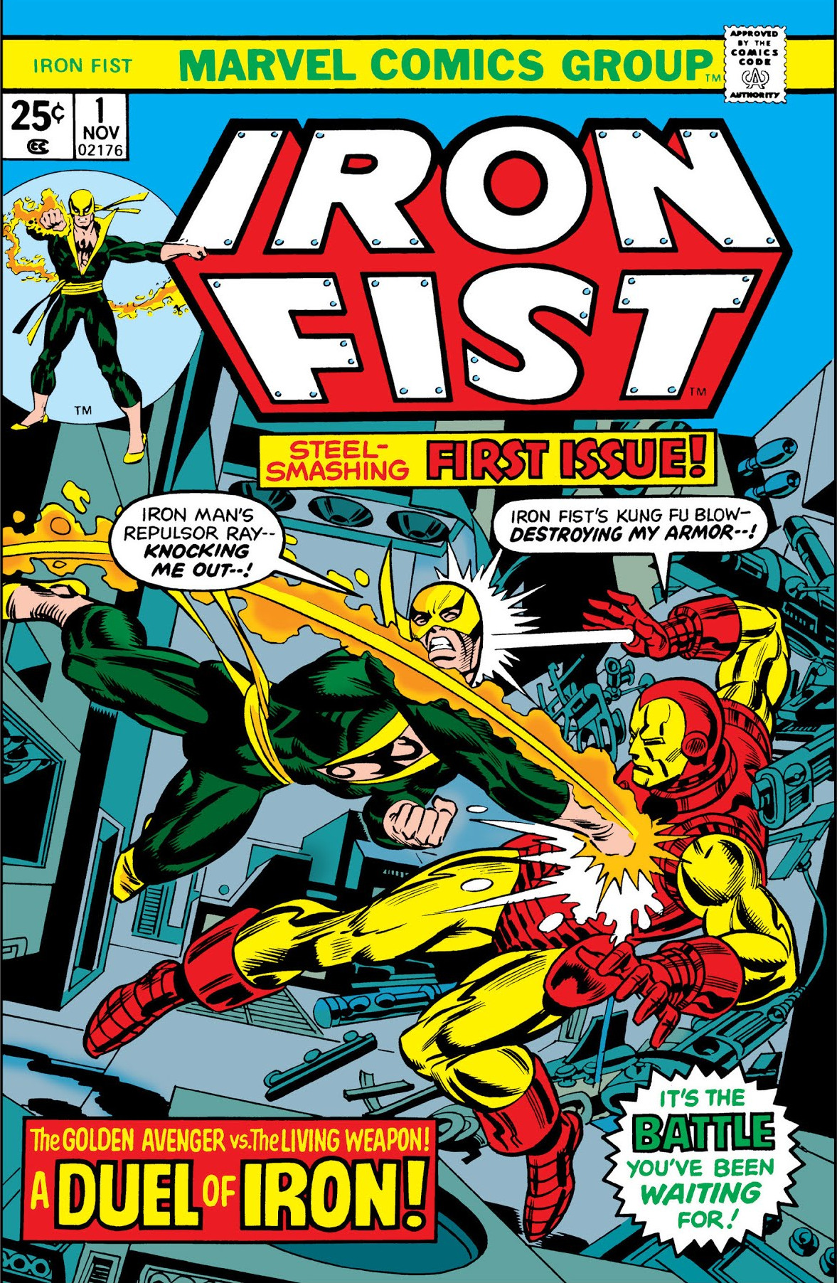 Iron fist marvel wiki