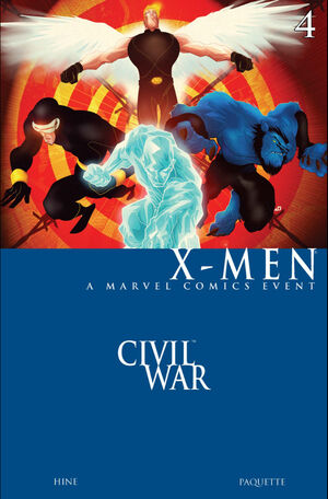 Civil War X-Men Vol 1 4