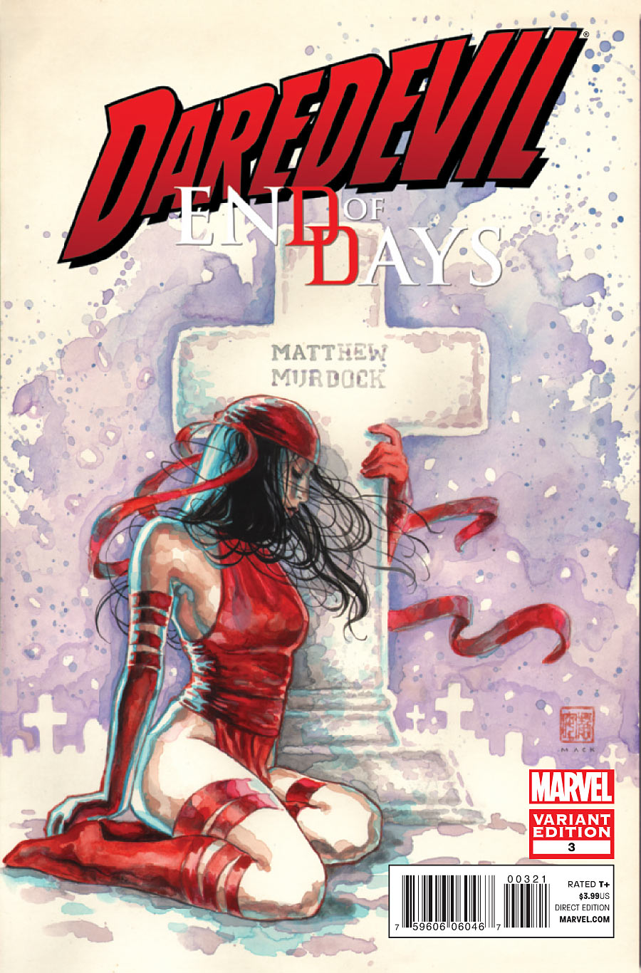 Comic Review:  Daredevil End of Days #1