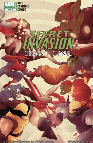 Secret Invasion Front Line Vol 1 5