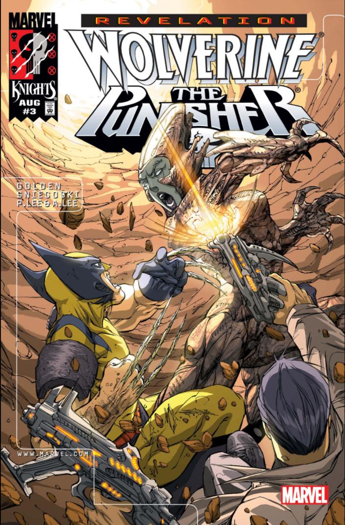 Wolverine Punisher Revelation Vol 1 3