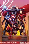 Avengers Vol 4 1 Greg Land Textless Variant