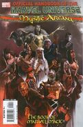 Official Handbook of the Marvel Universe Mystic Arcana The Book of Marvel Magic Vol 1 1