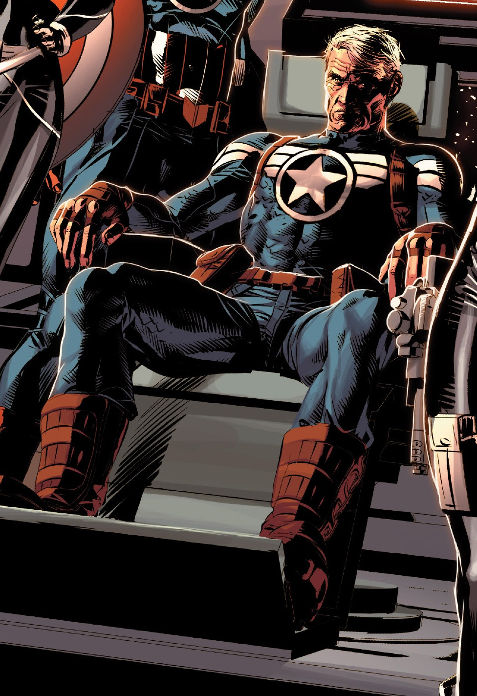 Roger Marvel Captain America No More What's Next For Chris Evans As Steve  Rogers