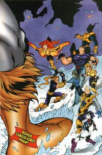 X-Force and Cable Annual Vol 1 '97 Pinup 1