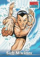 Namor McKenzie (Earth-616) from Marvel Legends (Trading Cards) 0001