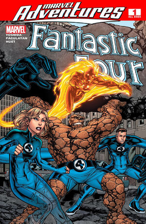 Marvel Adventures Fantastic Four Vol 1 1