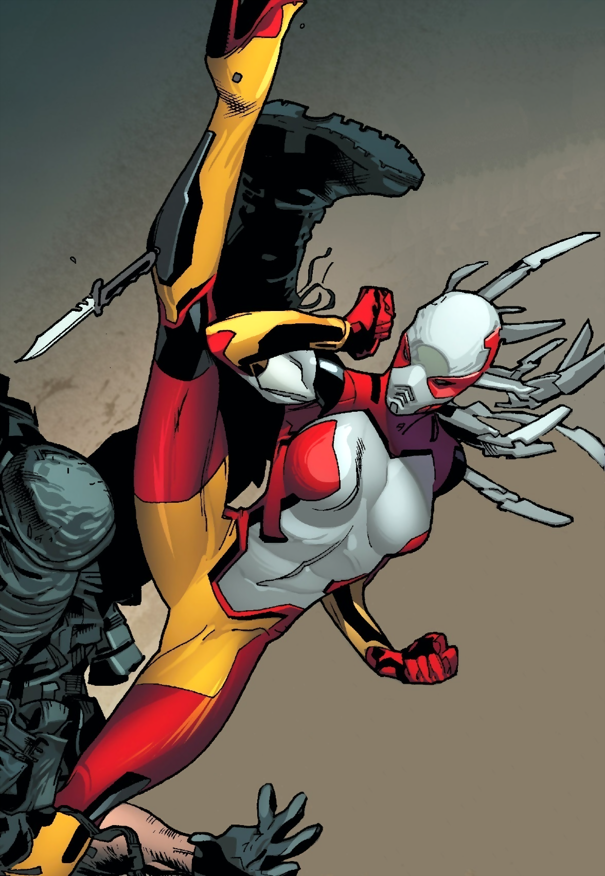 Mercedes Knight (Earth-616) from All-New Captain America Vol 1 2 001